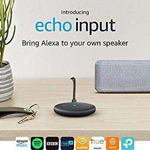 Buy any speaker from the page and get an Echo Input for £14.99 @ Amazon