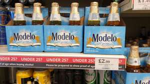 Modelo Mexican beer £2.99 pack of 4 @ Quality Save