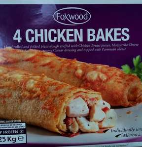Costco Chicken Bakes instore for £7.99