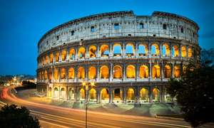 2 nights Rome + 2 nights Venice £152.10 from London - £152.10 @ Groupon   (Use code 'WILD')