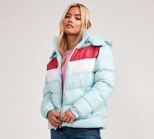 Condemned Nation Womens Puffer Jacket Now £14.99 - Upto 50% Off Men / Womens Jackets @ Footasylum  - adidas, Helly Hansen, Ellesse & more..