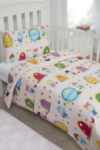 100% Cotton Girls Bedding Pink Fairy Door Duvet Cover Set @ Amazon Sold By Novelux.IE & Fulfilled By Amazon £5 Prime £9.49 Non Prime