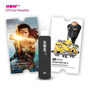 Now TV stick with 2 months entertainment or 1 month cinema £14.99 @ B&M