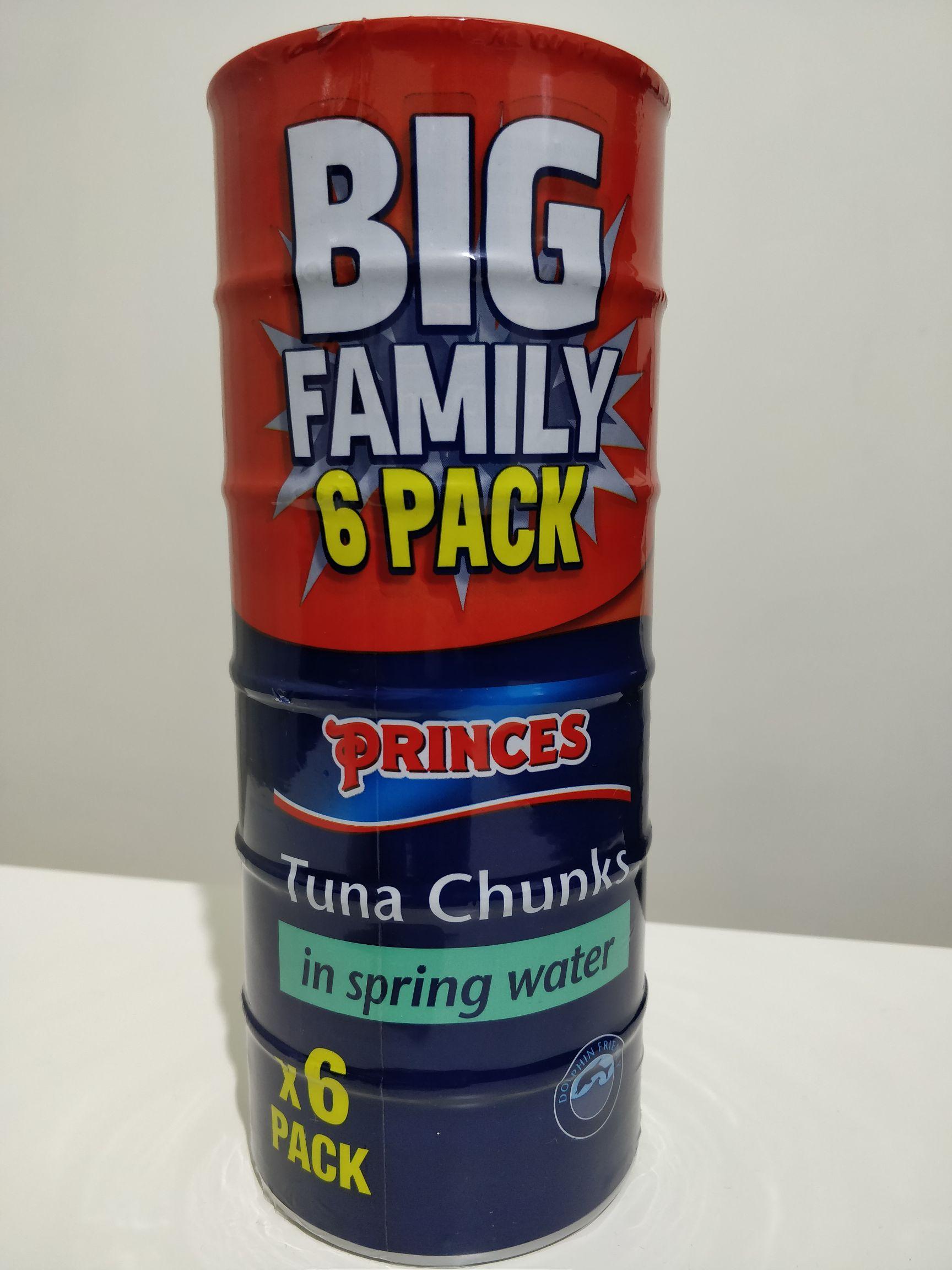Princes Tuna Family 6 Pack £3 @ Asda