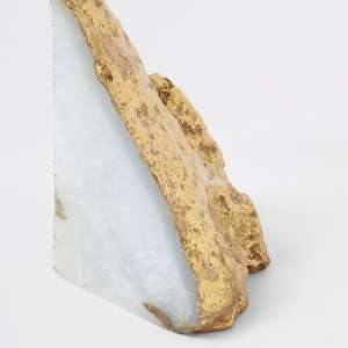 Natural agate gold book end £10 @ River Island (+ £3.99 del / £1 c&c)