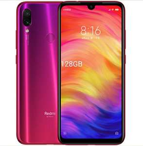 128GB/4GB Dual Sim Xiaomi Redmi Note 7 SIM FREE/ UNLOCKED - Red £170.99 @ Eglobal