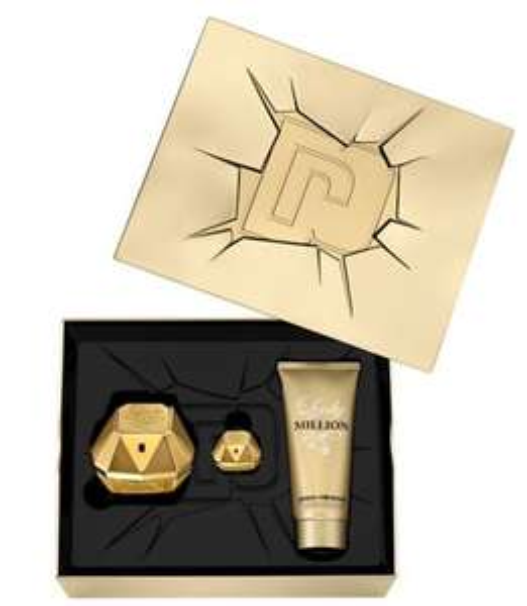 Paco Rabanne Lady Million Eau de Parfum 50ml Christmas Gift Set for Her £28.12 at Boots