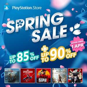 Spring Sale at PSN Store - Far Cry 5 £9.73 RDR 2 £27.45 God of War £13.89 Detroit £14.74 Marvel's SpiderMan £27.62 + MORE [Indonesia Store]