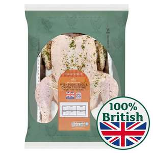Morrisons Cook In The Bag Garlic & Herb Whole Chicken 1.6kg online only £1