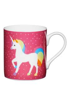 Set Of 2 Kids Fine Bone China Unicorn Mugs (250ml) was £9.99 now £4.99 C+C via Collect+ @ Very - Easter Gifts?