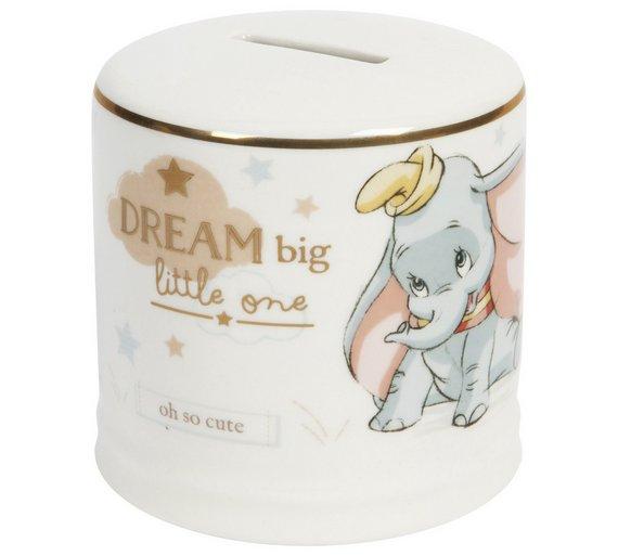 Disney Magical Moments Ceramic Dumbo Money Box £9.99 at Argos