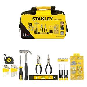 Stanley Material 38 Piece Tool Set now £20 delivered with code BIGTHANKS @ Amazon