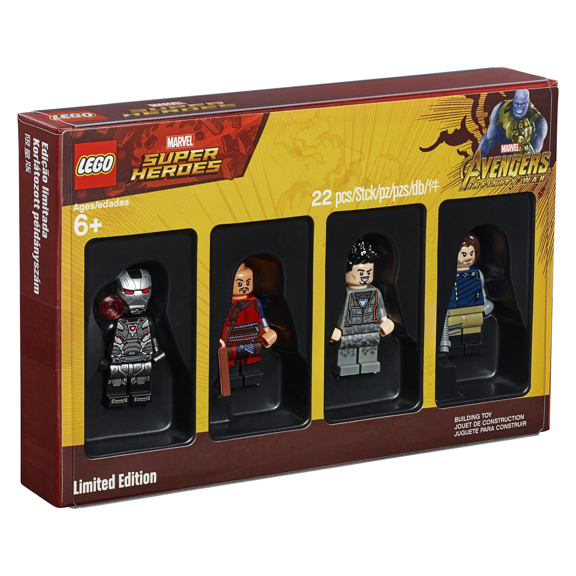 LEGO Marvel Superheroes Minifigure Set 5005256 - finally in UK £20 (instore or +£3.99 Delivery) @ Hamleys