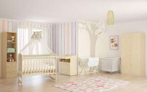 Polini Kids 0003023 Simple Collection 323 Baby Cot Natural @ Amazon £34.58 Delivered Free With Code