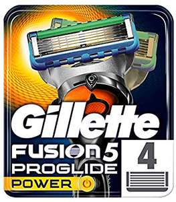 Gillette Fusion5 ProGlide Power Razor Blades for Men, 8 Refills (2 packs), £10.78 at Amazon