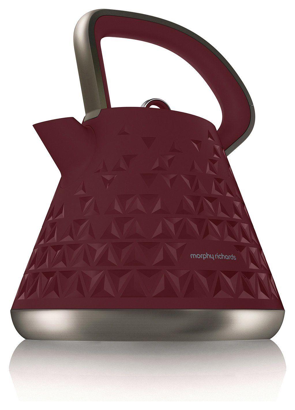 Morphy Richards 108103 3.1kW 1.5L Prism Rapid Boil Kettle Merlot, £14.99 at argos/ebay
