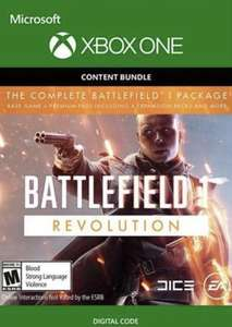 Battlefield 1 Revolution Inc. Battlefield 1943 (Xbox One) - £1.73 @ Instant Gaming