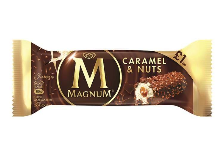 Magnum Caramel & Nuts Bar @ Heron Foods - 25p Or 5 For £1