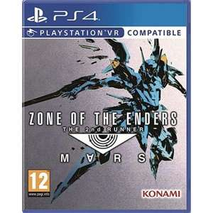 Zone of the Enders 2nd Runner Mars PlayStation VR PS4 £9.95 delivered @ The Game collection