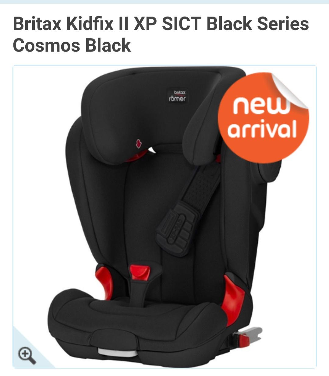 Britax Kidfix II XP SICT Black Edition - £135 Delivered @ BabysMart