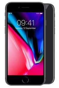 iPhone 8 64GB, £137.50 upfront £24pm 2 year contract - vodaphone, 5gb data, unlimited mins/texts at Mobiles.co.uk