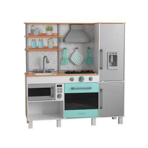 KidKraft Gourmet Chef Play Kitchen With EZ Kraft Assembly (3+ Years) £39.99 @ Costco