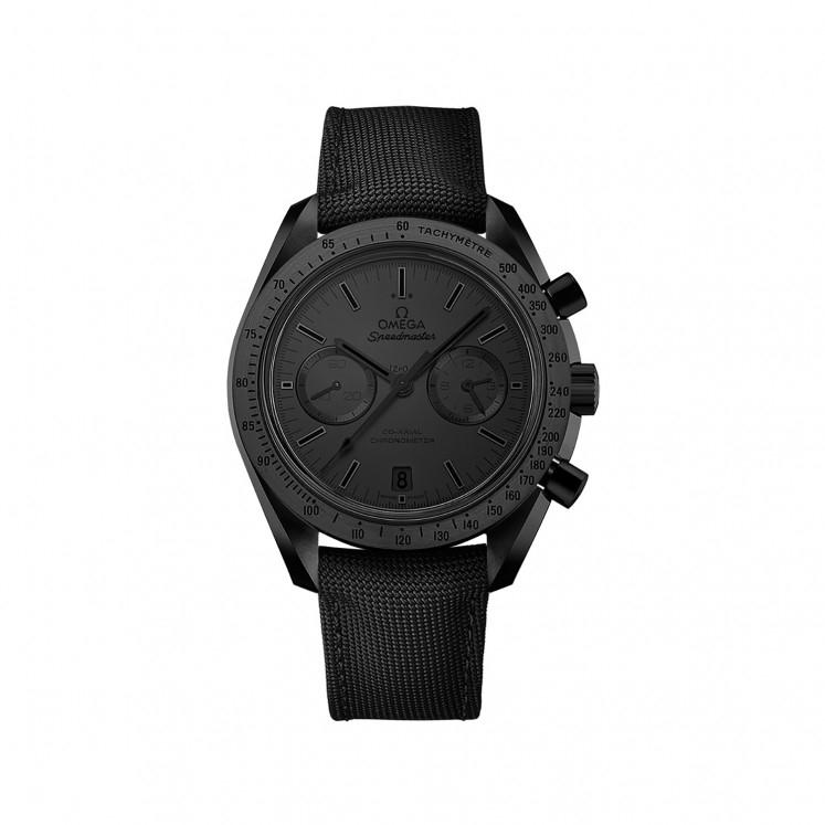 Omega Speedmaster Dark Side of the Moon in Black men's chronograph watch, £7,000.00 @ Fraser Hart