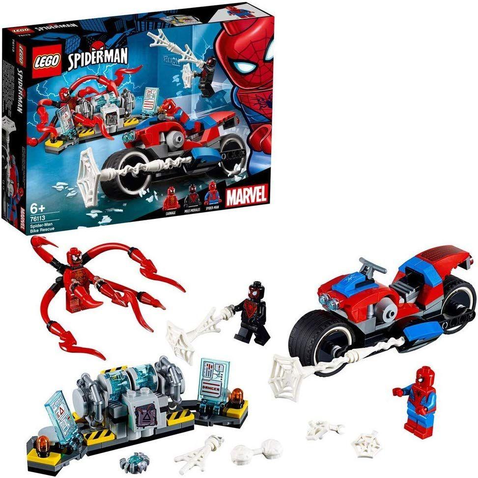 Lego 76113 Spider-Man Bike Rescue £15.99 (Prime) / £20.48 (non Prime) Amazon