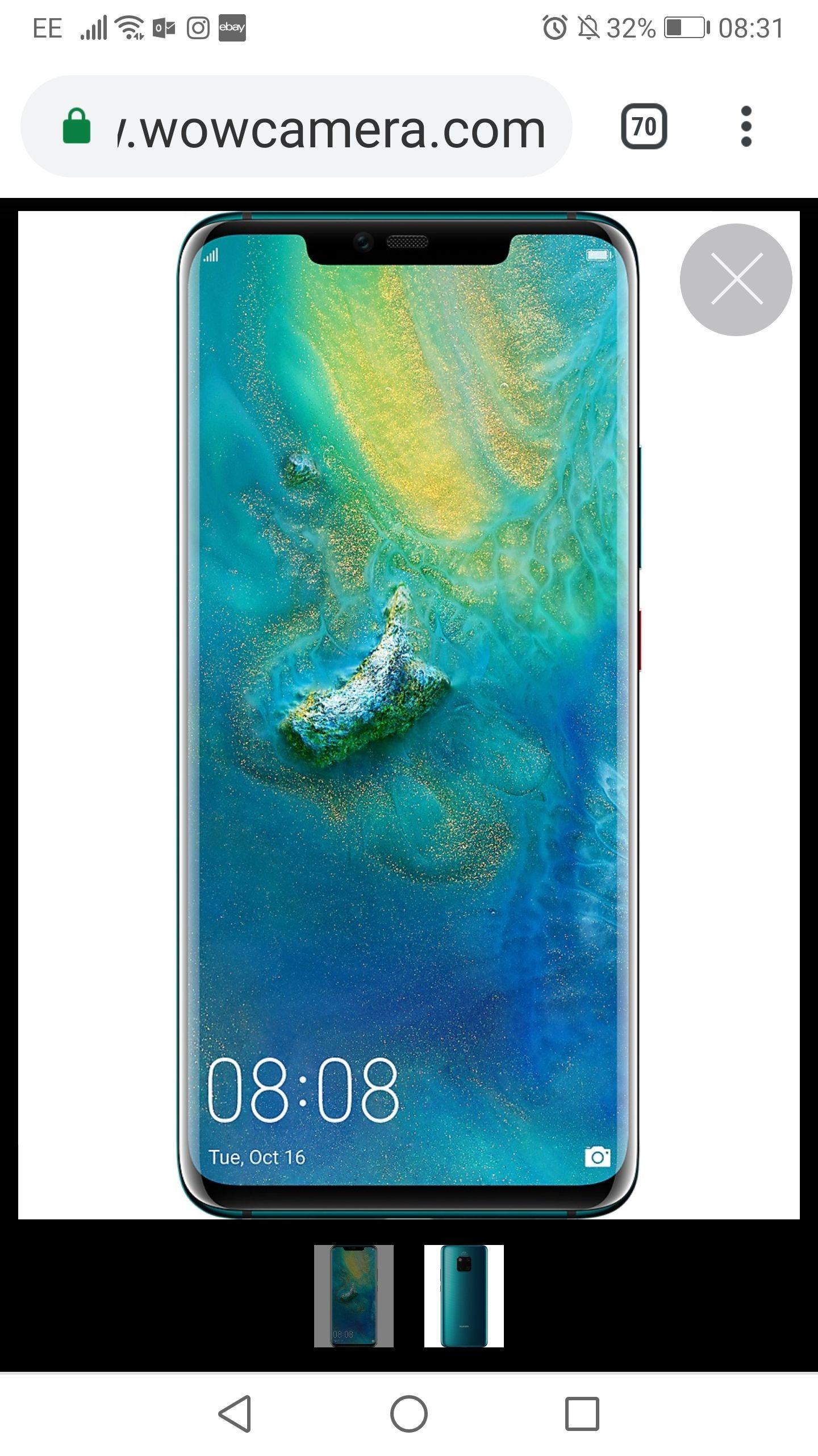 Cheapest ever! New Huawei mate 20 Pro. Unlocked, dual SIM,  2 years official Huawei UK warranty. 14 day money back guarantee £580 Wowcamera