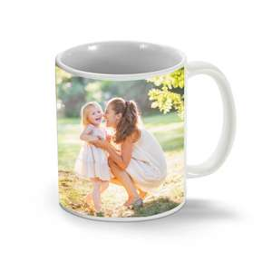 White 11oz Personalized Mug for Mother's Day, £3.50 Delivered with code THANKSMUM @ Truprint