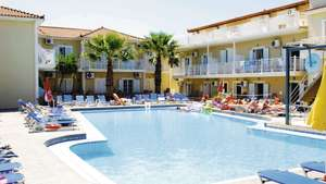 7 nights self catering 2 adults Zante, Greece, flying from Stansted 21st May, Bags & transfers inc - £143pp
