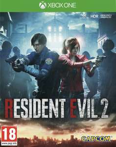Resident evil 2 remake Xbox one £29.74 with code @ boss deals eBay