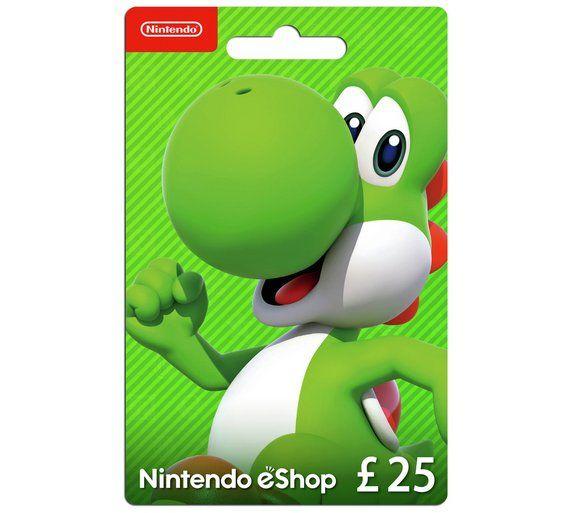 £25 eshop credit £21.22 use ebay code PLAY15 on Currys on eBay