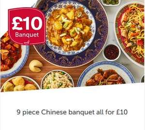 Iceland 9 piece Chinese banquet for £10