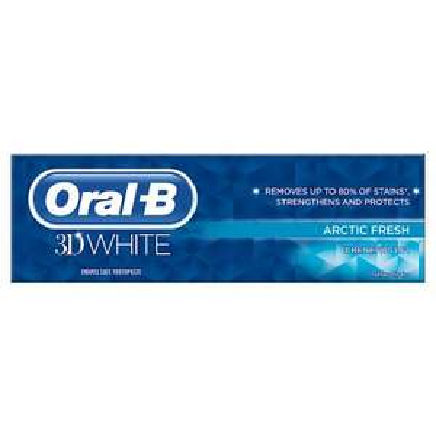 Oral-B 3D White Arctic Fresh 75ml at Waitrose & Partners for £1.95