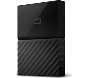 New: WD My Passport Portable Hard Drive - 4 TB, Black - Currys for £72.24 w/c Delivered @ Ebay Currys