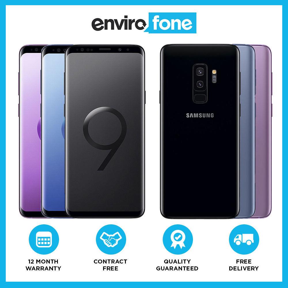 Samsung Galaxy S9+ G965F 128GB Unlocked / Refurb - Good (Blue, Black or Purple) £379 delivered w/code @ eBay / Envirofone