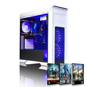 AWD Falcon White 2600 Six Core 3.9GHz RX 570 8GB Desktop Gaming PC £499.95 at eBay /  hyper-uk