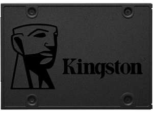 240GB Kingston A400 SSD 2.5 Inch SATA III Solid State Hard Drive - 500MB/s - £23.79 w/code @ eBay mymemory-uk