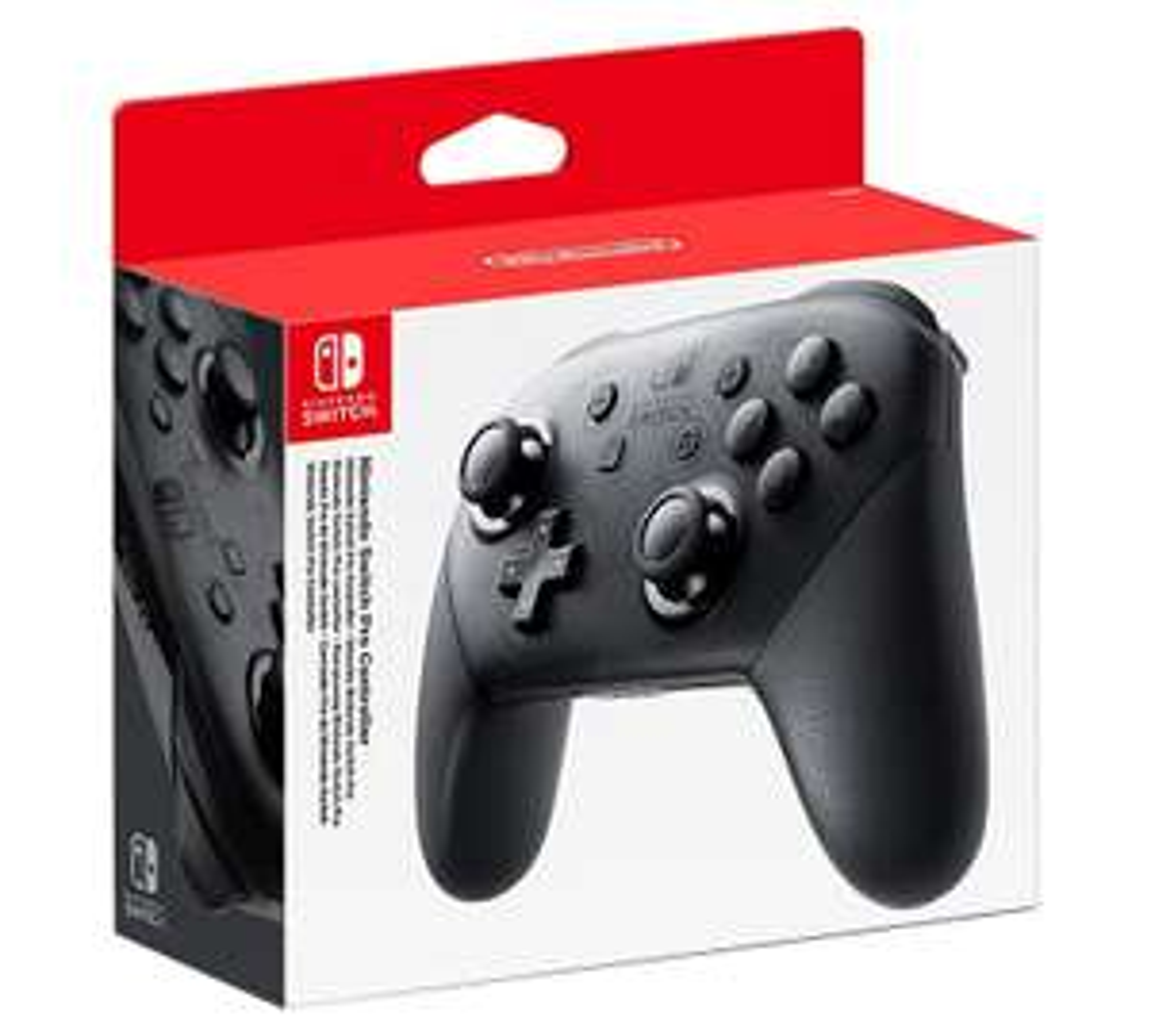 Nintendo Switch Pro Controller Black From £44.19 @ Funboxmedialtd / ShopTo eBay / Currys eBay