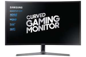 Samsung C27HG70 27 inch Curved QLED 144hz Freesync Gaming Monitor - Grade A Refurbished £278.46 eBay /  techsave2006