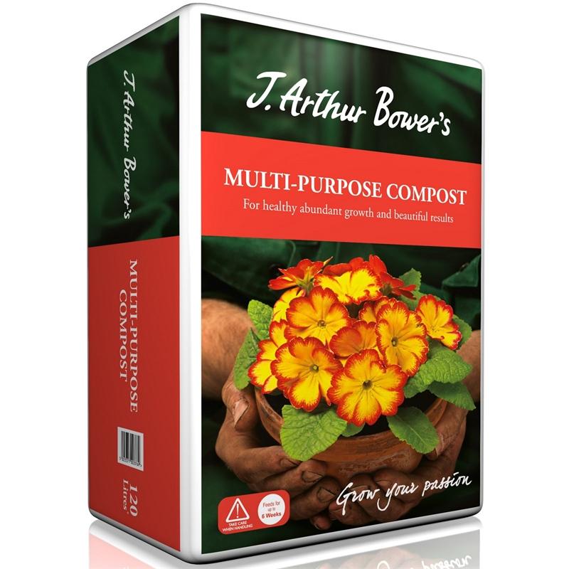 J Arthur Bowers Multi-Purpose Compost - 120L - £5 Homebase Instore Only