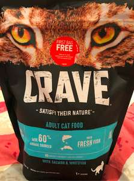 Free massive 750g bag of cat or 1kg dog food refund via bank transfer/paypal @ Crave
