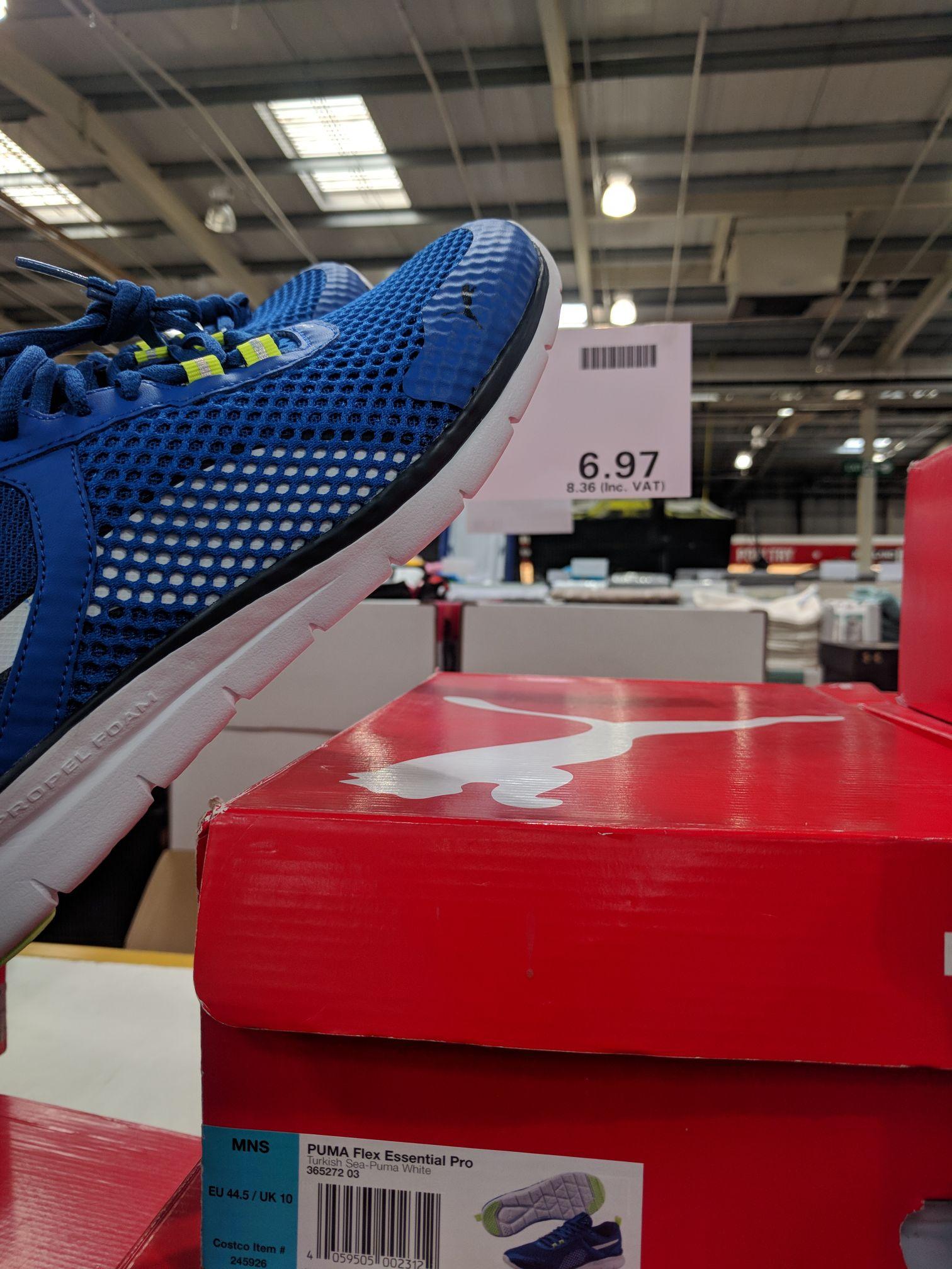 Puma Flex Essential Pro Trainers for £8.36 at Costco instore