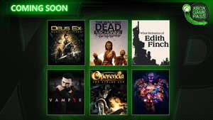Xbox Game Pass March/April 2019