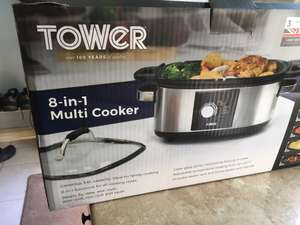 Tower 8 in 1 multi cooker 5.6L instore at B&M for £10