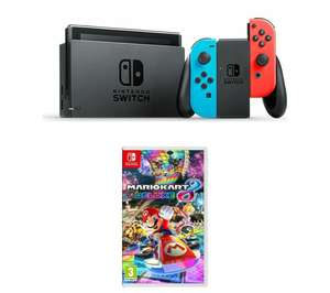 15% off Brand New Mario Kart Nintendo Switch Bundle from Ebay. Ends 8pm today from Currys for £245.65