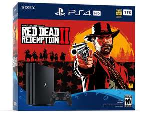 PS4 Pro - Red Dead Redemption 2 Bundle - £50 off with Ebay Code (PLAY15) at Ebay/Shopto £297.49