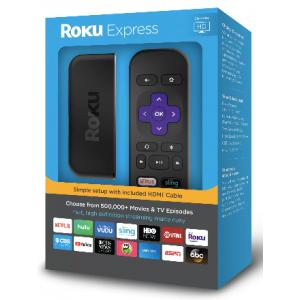 Roku Express HD Streaming Stick - £21.24 w/code @ Argos eBay
