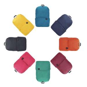 Xiaomi Lightweight Water-Resistant 10L Backpack available in 8 different colors £4.05 delivered w/code @ Banggood
